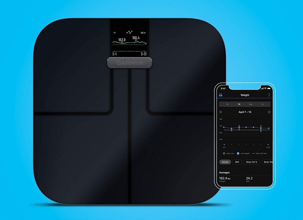 balance connectée garmin index s2 smart scale